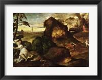Orpheus and Eurydice Fine-Art Print