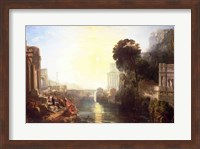 Dido building Carthage Fine-Art Print