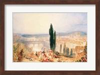 Florence from near San Miniato, 1828 Fine-Art Print