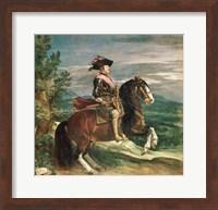 Equestrian Portrait of Philip IV Fine-Art Print