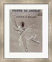 Poster for the 'Saison Russe' at the Theatre du Chatelet, 1909 Fine-Art Print