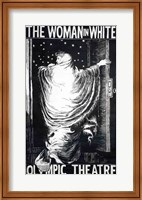 Poster for the stage version of 'The Woman in White' Fine-Art Print