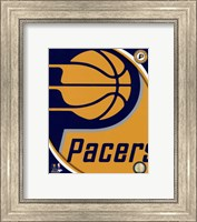 Indiana Pacers Team Logo Fine-Art Print