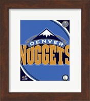 Denver Nuggets Team Logo Fine-Art Print