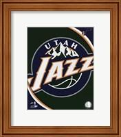 Utah Jazz Team Logo Fine-Art Print