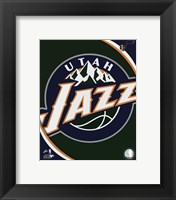 Utah Jazz Team Logo Fine-Art Print