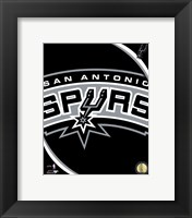 San Antonio Spurs Team Logo Fine-Art Print
