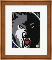 Minnesota Timberwolves Team Logo Fine-Art Print