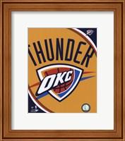 Oklahoma City Thunder Team Logo Fine-Art Print