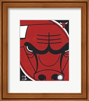 Chicago Bulls Team Logo Fine-Art Print