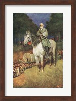 General Lee on his Famous Charger Fine-Art Print