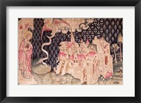 The second angel announces the fall of Babylon Fine-Art Print