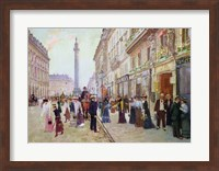 Workers leaving the Maison Paquin Fine-Art Print