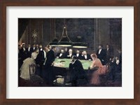 The Gaming Room at the Casino, 1889 Fine-Art Print