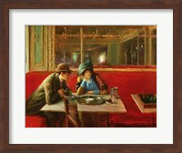 At the Cafe Fine-Art Print