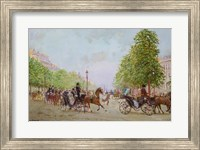 The Promenade on the Champs-Elysees Fine-Art Print