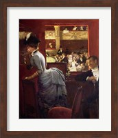 The Box by the Stalls, c.1883 Fine-Art Print