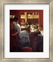 The Box by the Stalls, c.1883 Fine-Art Print