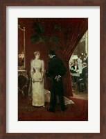The Private Conversation, 1904 Fine-Art Print
