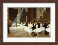 In the Wings at the Opera House, 1889 Fine-Art Print