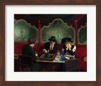 The Backgammon Players Fine-Art Print