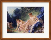 Diana getting out of her bath, 1742 Fine-Art Print
