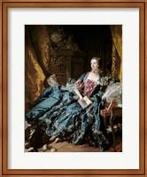 Madame de Pompadour, 1756 Fine-Art Print
