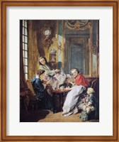 The Afternoon Meal, 1739 Fine-Art Print