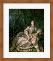 Madame de Pompadour, 1758 Fine-Art Print