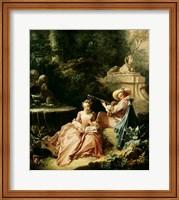 The Music Lesson, 1749 Fine-Art Print