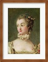 Madame de Pompadour - detail Fine-Art Print