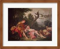 The Sleeping Shepherdess Fine-Art Print