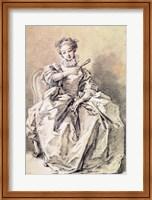 Woman in Spanish Costume Fine-Art Print