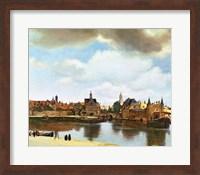View of Delft Fine-Art Print