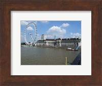 The London Eye and the Aquarium Fine-Art Print