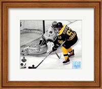 Brad Marchand Game 3 of the 2011 NHL Stanley Cup Finals Spotlight Action Fine-Art Print