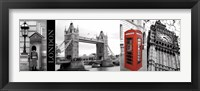 A Glimpse of London Fine-Art Print