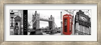 A Glimpse of London Fine-Art Print