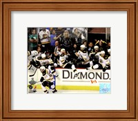 Boston Bruins Bench Celebration Game 7 of the 2011 NHL Stanley Cup Finals(#55) Fine-Art Print