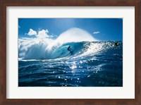 Surfer on the ocean Fine-Art Print