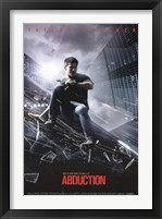 Abduction - Taylor Lautner Wall Poster