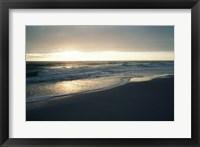 Waves breaking on the beach at sunrise Fine-Art Print