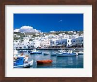 Town View, Mykonos, Cyclades Islands, Greece Fine-Art Print