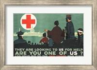 Red Cross War Fund Fine-Art Print