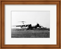 Military airplane taking off, C-5 Galaxy Fine-Art Print