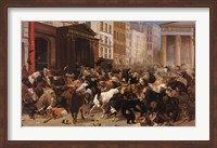 The Bulls and Bears in the Market Fine-Art Print