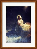 Christ in the Garden of Gethsemane Heinrich Hoffmann (1824-1911 German) Fine-Art Print