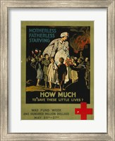 How Much to Save These Lives War Fund Week Fine-Art Print