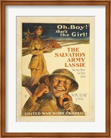 The Salvation Army Lassie Fine-Art Print