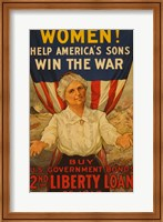2nd Liberty Loan 1917 Fine-Art Print